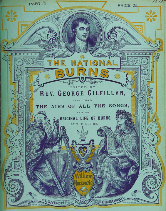 The National Burns. Edited by Rev. George Gilfillan, including t